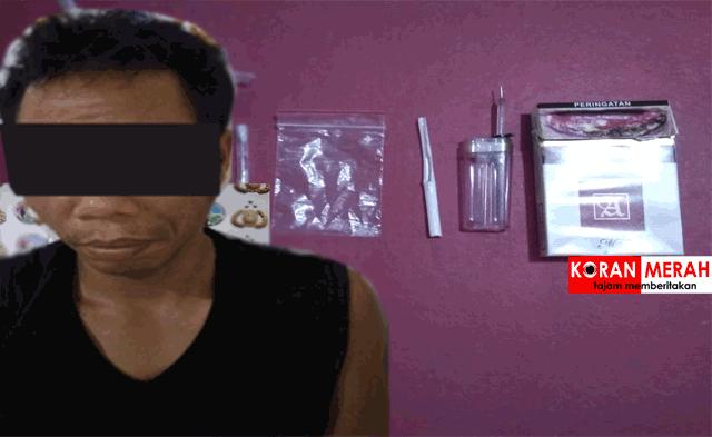 polres loteng tangkap pengedar narkoba