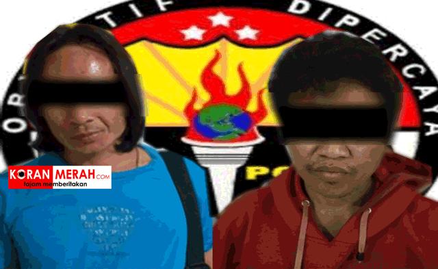 polres loteng tangkap residivis
