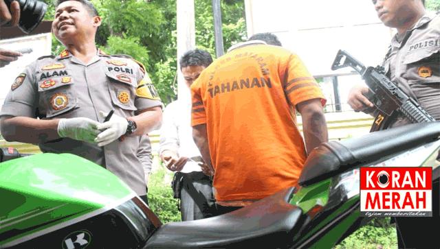 Polisi Tangkap Penipuan Jual Beli Motor Online Begini Modusnya